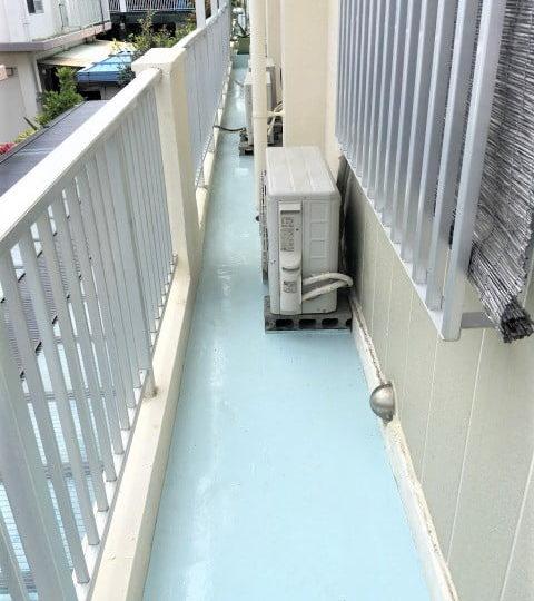 ベランダ防水塗装工事