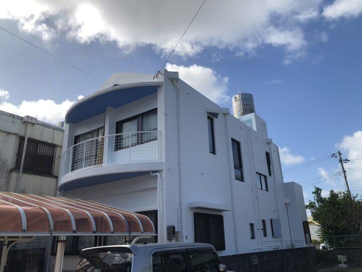 沖縄県沖縄市 L様邸 外壁・防水塗装工事