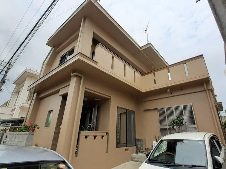 沖縄県うるま市 T様邸 外壁・防水塗装工事