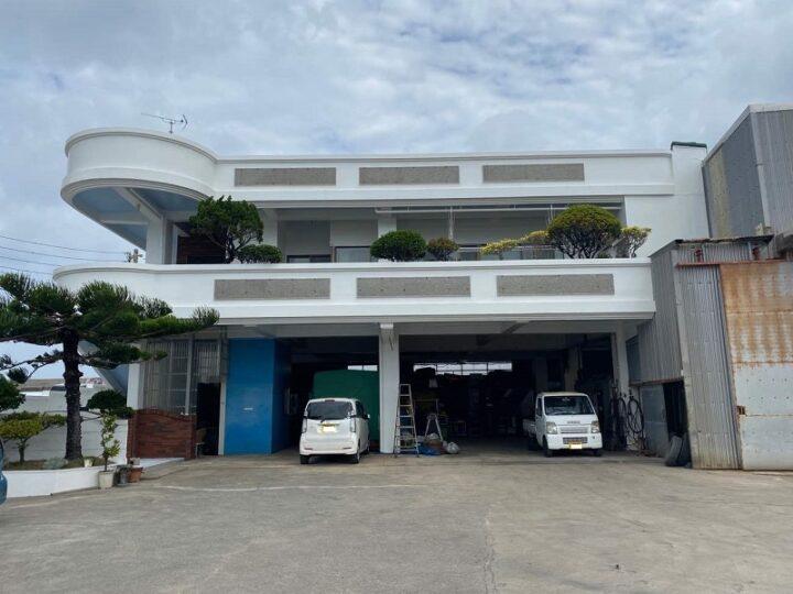 沖縄県浦添市 G様邸 外壁・防水塗装工事