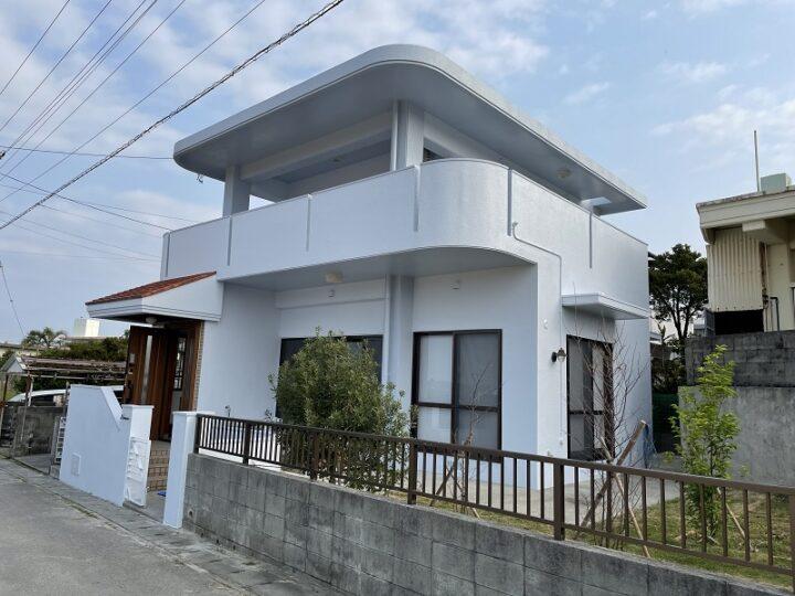 沖縄県南城市 R様邸 外壁・防水塗装工事